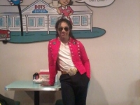 Looks like the King of Pop loves Dots Diner too!